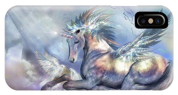 Unicorn Of Peace IPhone Case