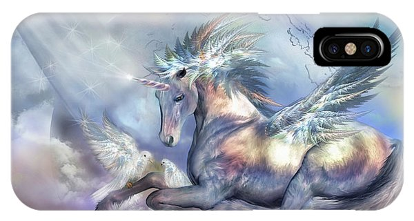 Unicorn Of Peace IPhone Case