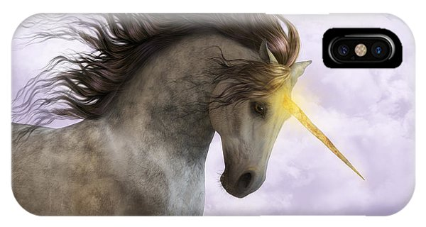 Unicorn With Magic Horn IPhone Case