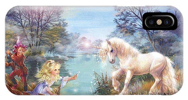 Unicorns Lake IPhone Case