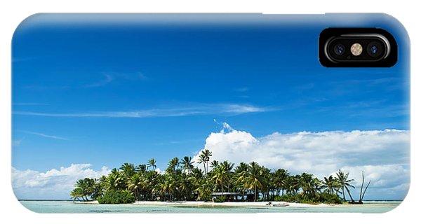 Uninhabited Island In The Pacific IPhone Case