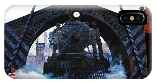 Union Cotton Mills IPhone Case