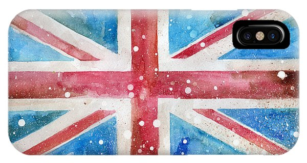 Def Leppard iPhone Case - Union Jack by Sean Parnell
