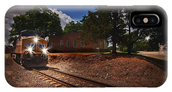 Union Pacific 7917 Train IPhone Case