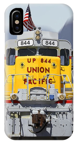 Union Pacific 844 On The Move IPhone Case