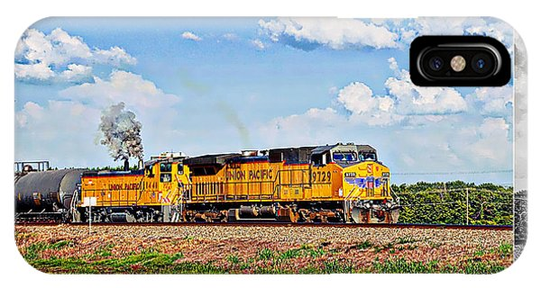 Union Pacific Railroad 2 IPhone Case
