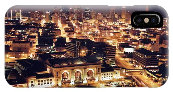 Union Station Night IPhone Case