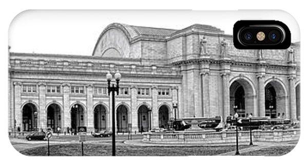 Departure iPhone Case - Union Station Washington Dc by Olivier Le Queinec