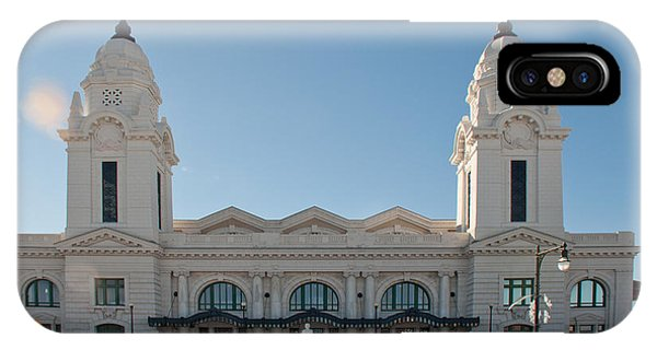 Union Station Worcester Massachusetts IPhone Case