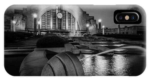 Union Terminal At Night IPhone Case