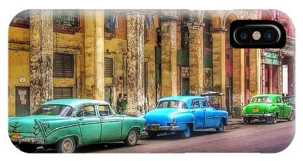 United Colors Of Coches Habaneros IPhone Case