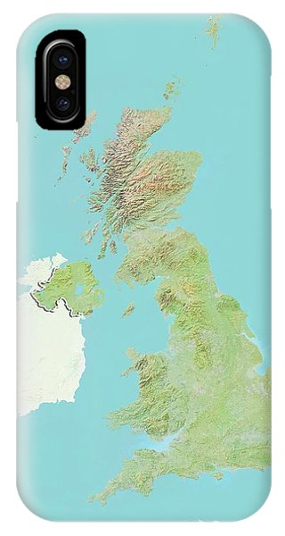 Northern Scotland iPhone Case - United Kingdom by Planetobserver/science Photo Library