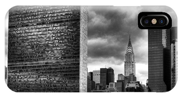 United Nations And Chrysler Building IPhone Case