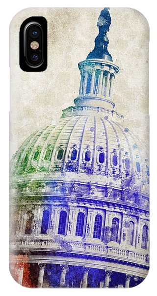 United States Capitol Dome IPhone Case