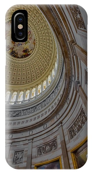 Unites States Capitol Rotunda IPhone Case