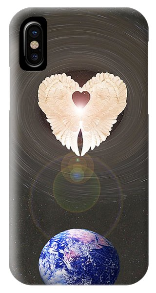 Universal Angel IPhone Case