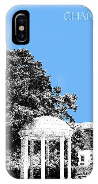 Old iPhone Case - University North Carolina Chapel Hill - Light Blue by DB Artist