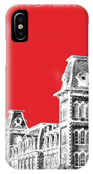 University Of Arkansas - Red IPhone Case