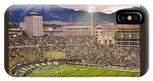 University Of Colorado Boulder Go Buffs IPhone Case