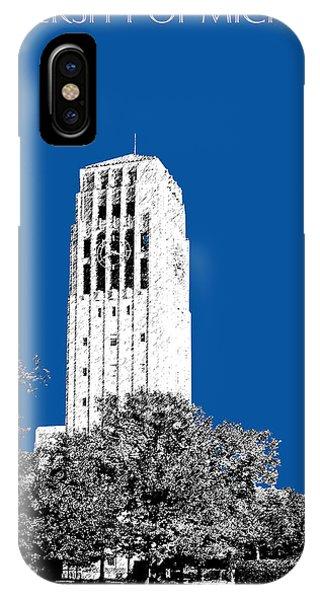 University Of Michigan - Royal Blue IPhone Case