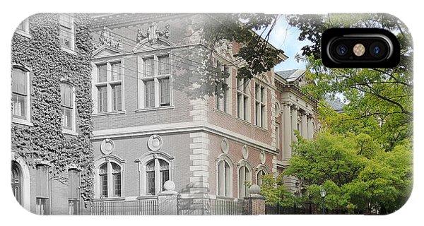 University Of Pennsylvania Law Department IPhone Case