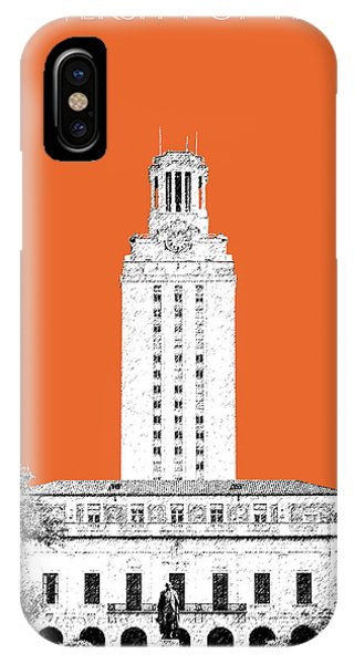 Celebration iPhone Case - University Of Texas - Coral by DB Artist