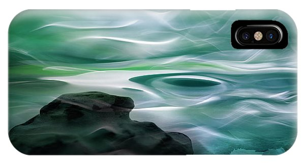 Moonlight iPhone Case - Unknown Waters by Willy Marthinussen