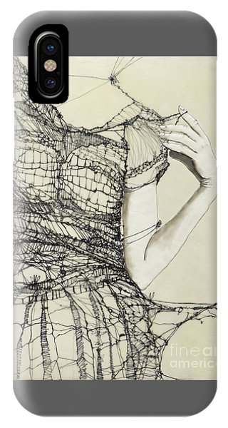 iPhone Case - Unravel #2 by Andrea Benson