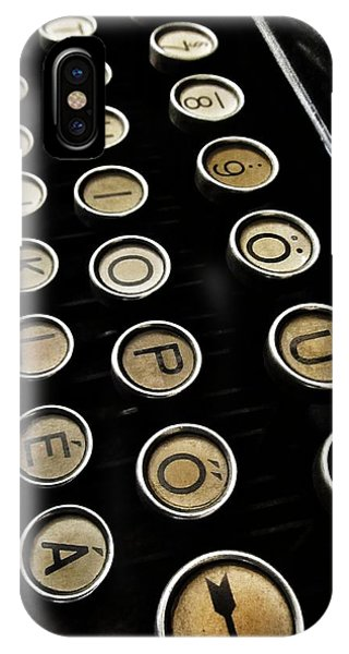 Unsaid Words IPhone Case