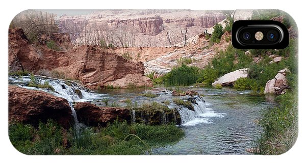 Unspoiled Waterfall IPhone Case