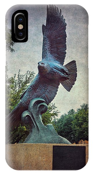 Imposing iPhone Case - Unt Eagle In High Places by Joan Carroll