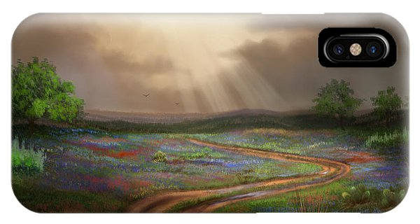 Untamed Country IPhone Case