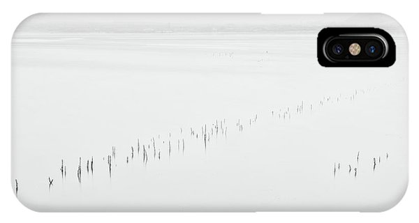 Simple Landscape iPhone Case - Untitled 03 by George Digalakis