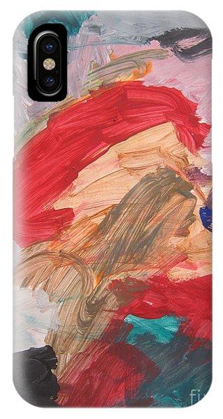 Untitled #56  Original Painting IPhone Case