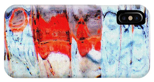 iPhone Case - Untitled Abstract 13b by B L Hickman
