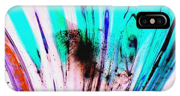 iPhone Case - Untitled Abstract 14b by B L Hickman