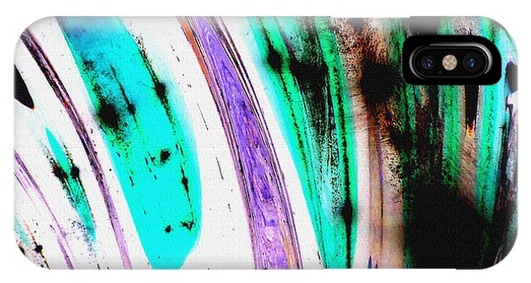 iPhone Case - Untitled Abstract 15b by B L Hickman