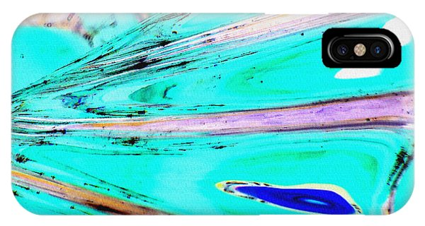 iPhone Case - Untitled Abstract 17b by B L Hickman