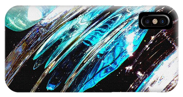 iPhone Case - Untitled Abstract 7 by B L Hickman