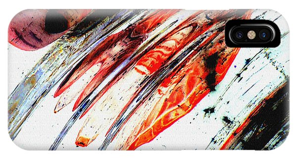 iPhone Case - Untitled Abstract 7b by B L Hickman