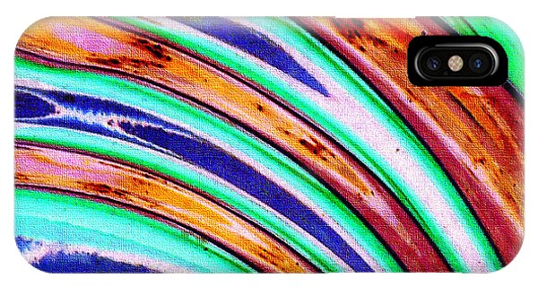 iPhone Case - Untitled Abstract No.11 by B L Hickman