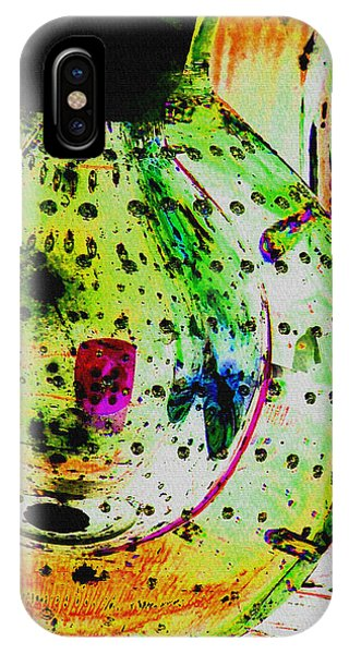 iPhone Case - Untitled Abstract No.14 by B L Hickman