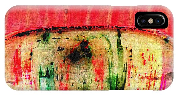 iPhone Case - Untitled Abstract No.4 by B L Hickman
