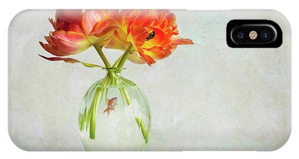 Tulip iPhone Case - Untitled by Alida Van Zaane