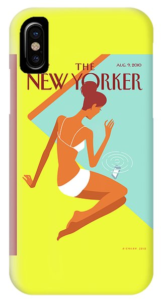 New Yorker August 9th, 2010 IPhone Case