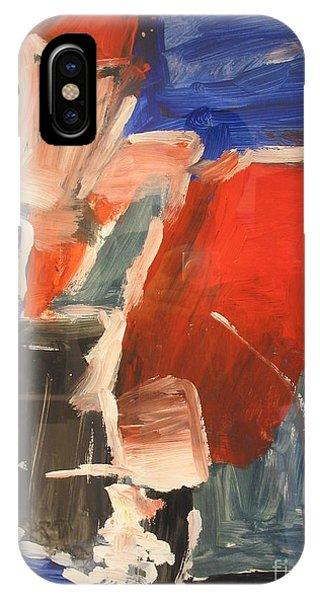 Untitled Composition I Phone Case by Fereshteh Stoecklein