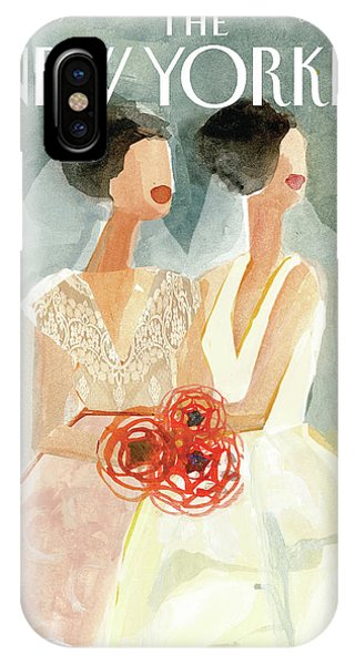June Brides IPhone Case