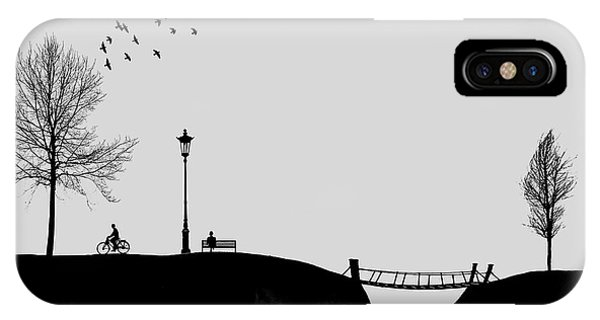 Winter iPhone Case - Untitled by Hadi Malijani