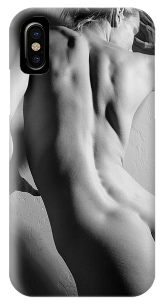 Untitled In Black And White IPhone Case