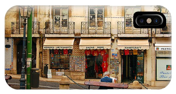 Lisbon Street Scene IPhone Case